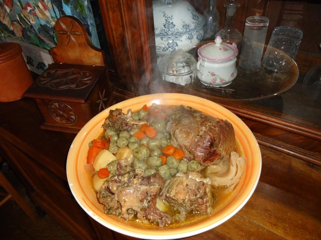 Pot au feu et quenelles de moelle maison poupon for Que manger avec des quenelles